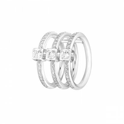 Le Cube Diamant ring