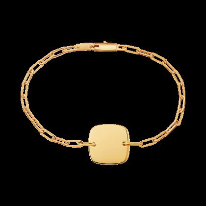 Bracelet Plaque Carrée
