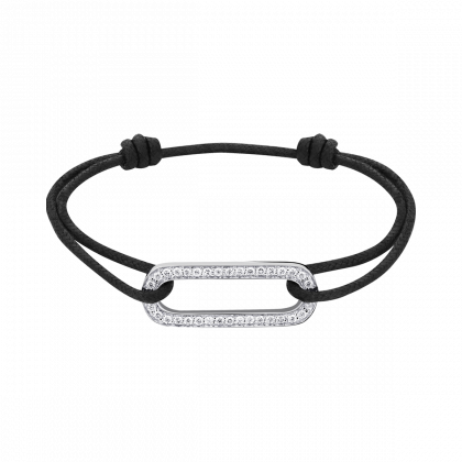 Bracelet sur cordon Maillon L