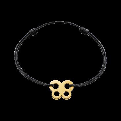 Butterfly cord bracelet