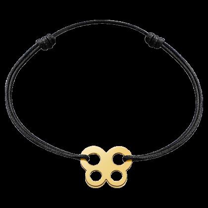 Bracelet sur cordon papillon