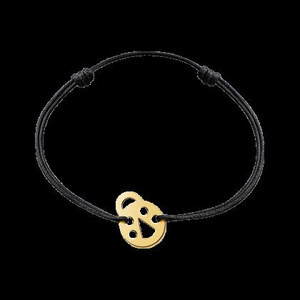 Ladybird cord bracelet