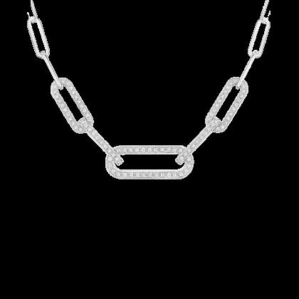 Maillon L necklace