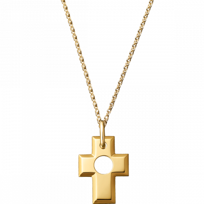 Pendentif Croix Percée