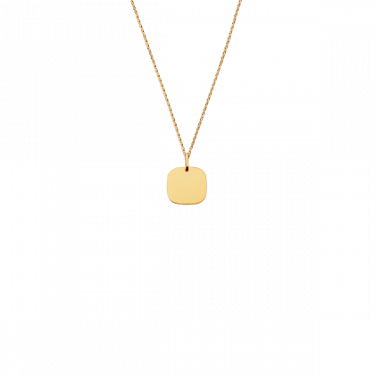 Square Tag small pendant