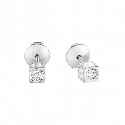 Puces d'oreilles Le Cube Diamant petit modèle
