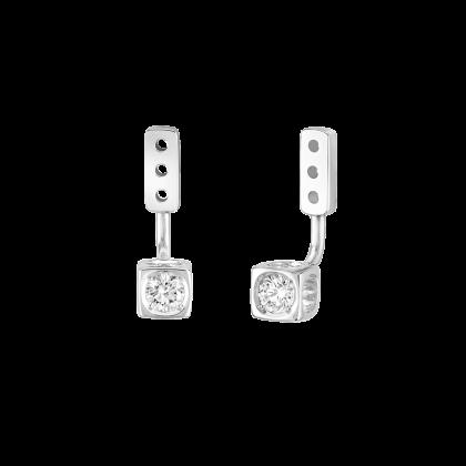 Dessous d'oreilles Le Cube Diamant moyen modèle