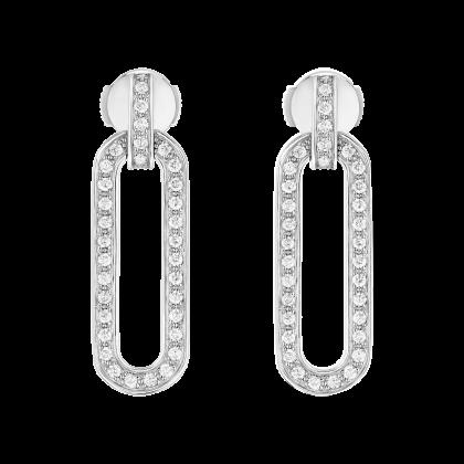 Maillon L medium earrings
