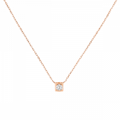 Collier Le Cube Diamant moyen modèle